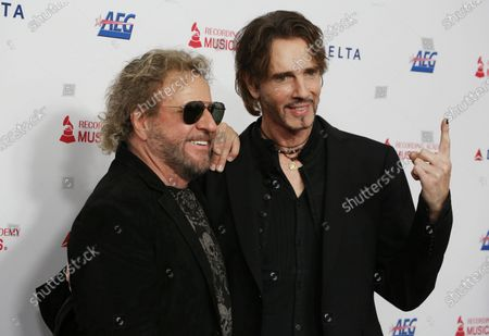 Stock Picture of Sammy Hagar and Rick Springfield