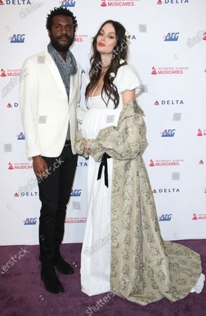 Gary Clark Jr and wife Nicole Trunfio