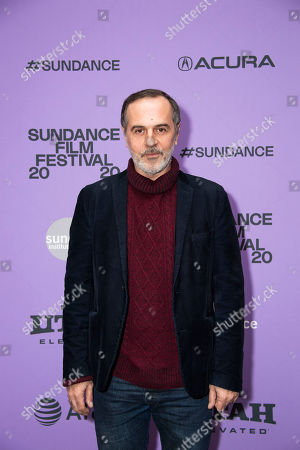 """Stock Photo of Merab Ninidze attends the premiere of """"Ironbark"""" at the Eccles Theatre during the 2020 Sundance Film Festival, in Park City, Utah"""