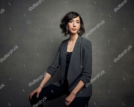 """Stock Photo of Lana Wilson poses for a portrait to promote the film """"Taylor Swift: Miss Americana"""" at the Music Lodge during the Sundance Film Festival, in Park City, Utah"""