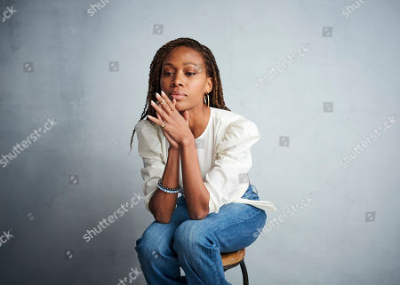 """Nicole Beharie poses for a portrait to promote the film """"Miss Juneteenth"""" at the Music Lodge during the Sundance Film Festival, in Park City, Utah"""