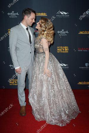 Stock Photo of Jen Lilley and Jason Wayne