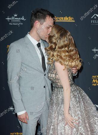 Stock Image of Jen Lilley and Jason Wayne