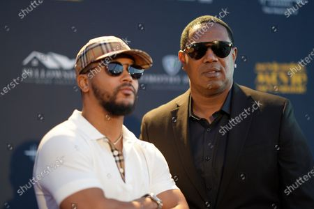 Percy Romeo Miller Jnr and Master P