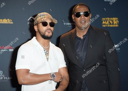 Stock Image of Percy Romeo Miller Jnr and Master P