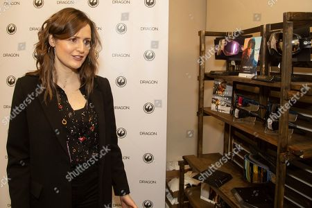 Clare Dunne is seen at the Music Lodge during the Sundance Film Festival, in Park City, Utah