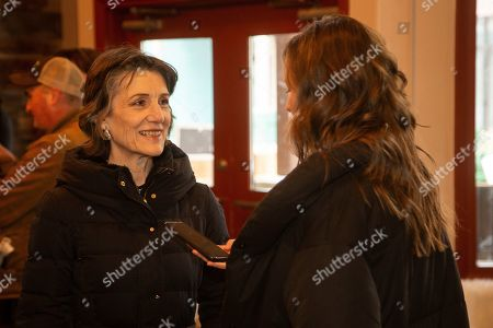 Harriet Walter is seen at the Music Lodge during the Sundance Film Festival, in Park City, Utah