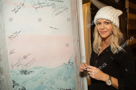 Kaitlin Olson is seen at the Music Lodge during the Sundance Film Festival, in Park City, Utah
