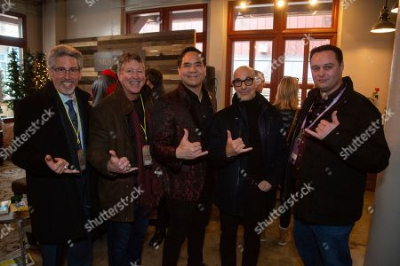 Stanley Tucci is seen at the Music Lodge during the Sundance Film Festival, in Park City, Utah