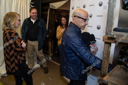 Stanley Tucci, Amy Ryan. Amy Ryan, from left, and Stanley Tucci are seen at the Music Lodge during the Sundance Film Festival, in Park City, Utah