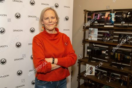 Phyllida Lloyd is seen at the Music Lodge during the Sundance Film Festival, in Park City, Utah