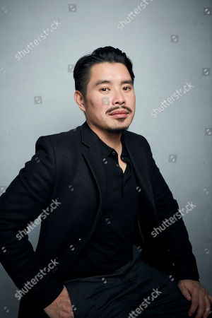 "Bao Nguyen poses for a portrait to promote the film ""Be Water"" at the Music Lodge during the Sundance Film Festival, in Park City, Utah"