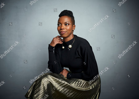 "Sasheer Zamata poses for a portrait to promote the film ""Spree"" at the Music Lodge during the Sundance Film Festival, in Park City, Utah"