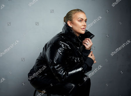 "Stock Photo of Lala Kent poses for a portrait to promote the film ""Spree"" at the Music Lodge during the Sundance Film Festival, in Park City, Utah"