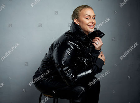 "Lala Kent poses for a portrait to promote the film ""Spree"" at the Music Lodge during the Sundance Film Festival, in Park City, Utah"