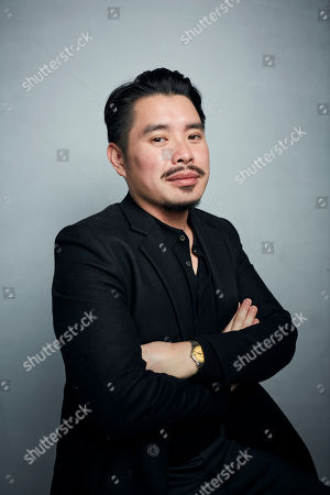"Stock Picture of Bao Nguyen poses for a portrait to promote the film ""Be Water"" at the Music Lodge during the Sundance Film Festival, in Park City, Utah"