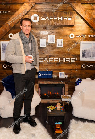 James Van Der Beek poses for a photo at the Los Angeles Times Studio at Sundance Film Festival presented by Chase Sapphire, in Park City, Utah
