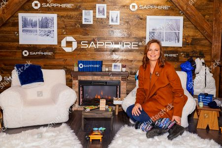 Mary Lynn Rajskub poses for a photo at the Los Angeles Times Studio at Sundance Film Festival presented by Chase Sapphire, in Park City, Utah