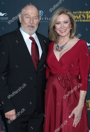 Corbin Bernsen and Nancy Stafford