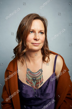 """Mary Lynn Rajskub poses for a portrait to promote the film """"Dinner in America"""" at the Music Lodge during the Sundance Film Festival, in Park City, Utah"""