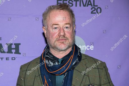 "Owen Teale attends the premiere of ""Dream Horse"" at the Rose Wagner Center during the 2020 Sundance Film Festival, in Salt Lake City, Utah"