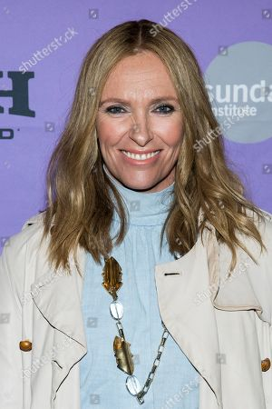 "Toni Collette attends the premiere of ""Dream Horse"" at the Rose Wagner Center during the 2020 Sundance Film Festival, in Salt Lake City, Utah"