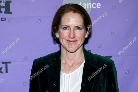 "Stock Photo of Tracy O'Riordan attends the premiere of ""Dream Horse"" at the Rose Wagner Center during the 2020 Sundance Film Festival, in Salt Lake City, Utah"