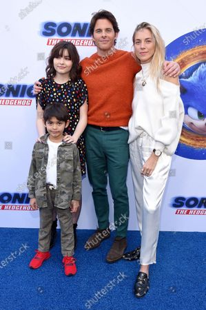 Editorial image of 'Sonic the Hedgehog' film premiere, Arrivals, Paramount Theatre, Los Angeles, USA - 25 Jan 2020