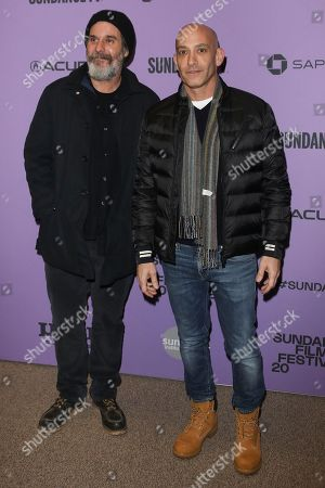Stock Photo of Anthony Katagas and Marc Buran
