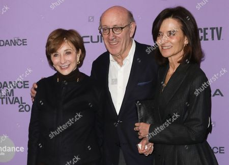 Stock Photo of Kenneth Feinberg, Camille Biros and guest