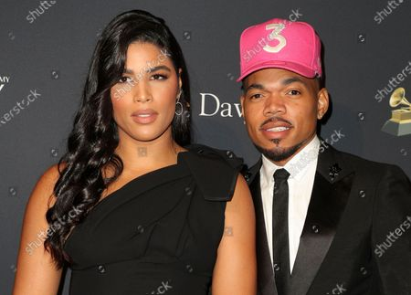 Stock Picture of Kirsten Corley and Chance The Rapper