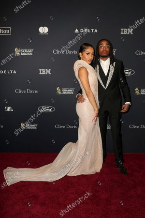 Stock Image of Saweetie and Quavo