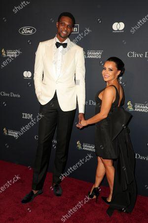 Chris Bosh and Adrienne Williams