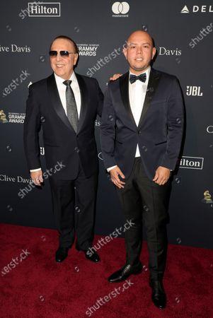 Stock Photo of Tommy Mottola and Lex Borrero