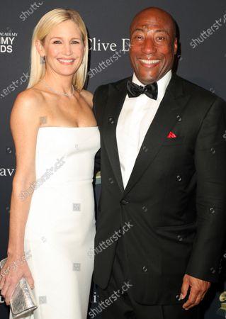 Stock Photo of Jennifer Lucas and Byron Allen
