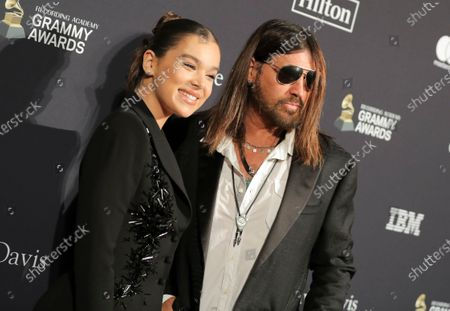 Stock Image of Hailee Steinfeld and Billy Ray Cyrus