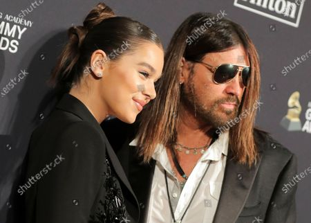 Hailee Steinfeld and Billy Ray Cyrus