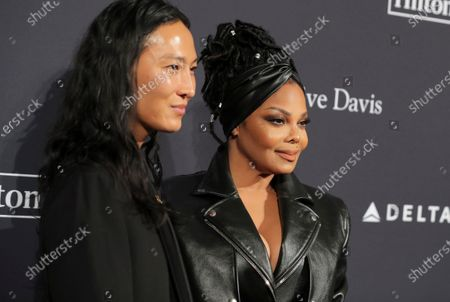Alexander Wang and Janet Jackson