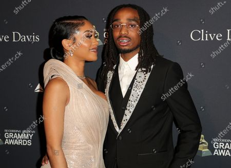 Stock Picture of Saweetie and Quavo