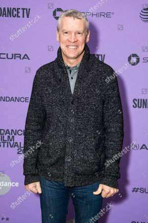 """Tate Donovan attends the premiere of """"Worth"""" at the Eccles Theatre during the 2020 Sundance Film Festival, in Park City, Utah"""