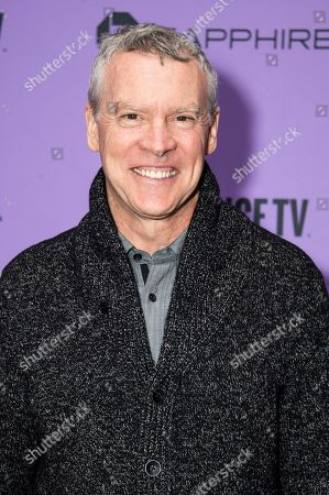 """Stock Photo of Tate Donovan attends the premiere of """"Worth"""" at the Eccles Theatre during the 2020 Sundance Film Festival, in Park City, Utah"""
