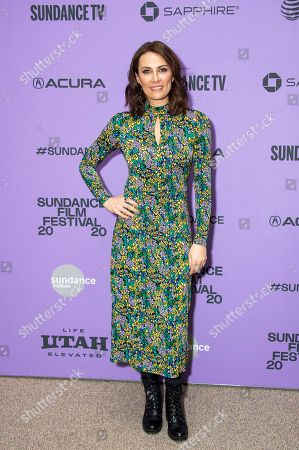 "Laura Benanti attends the premiere of ""Worth"" at the Eccles Theatre during the 2020 Sundance Film Festival, in Park City, Utah"