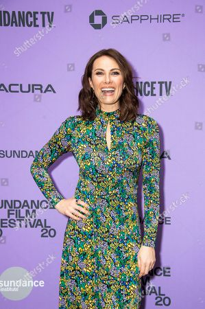 "Stock Photo of Laura Benanti attends the premiere of ""Worth"" at the Eccles Theatre during the 2020 Sundance Film Festival, in Park City, Utah"