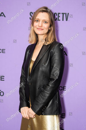 "Stock Picture of Sara Colangelo attends the premiere of ""Worth"" at the Eccles Theatre during the 2020 Sundance Film Festival, in Park City, Utah"