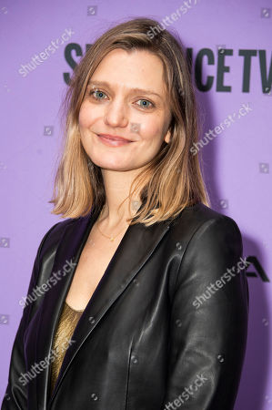 "Stock Photo of Sara Colangelo attends the premiere of ""Worth"" at the Eccles Theatre during the 2020 Sundance Film Festival, in Park City, Utah"