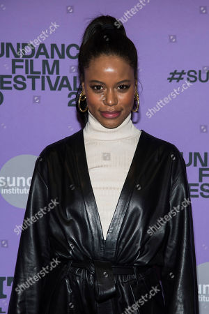 "Taylour Paige attends the premiere of ""Zola"" at the Eccles Theater during the 2020 Sundance Film Festival, in Park City, Utah"