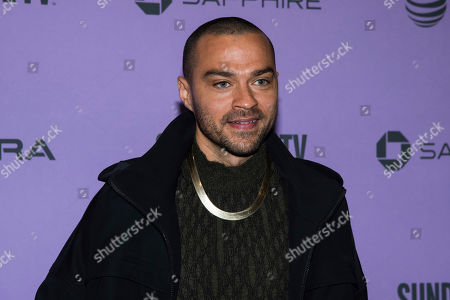 "Jesse Williams attends the premiere of ""Zola"" at the Eccles Theater during the 2020 Sundance Film Festival, in Park City, Utah"