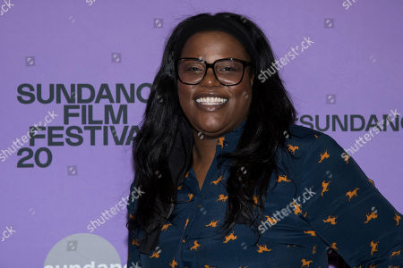 "Stock Picture of Joi McMillon attends the premiere of ""Zola"" at the Eccles Theater during the 2020 Sundance Film Festival, in Park City, Utah"