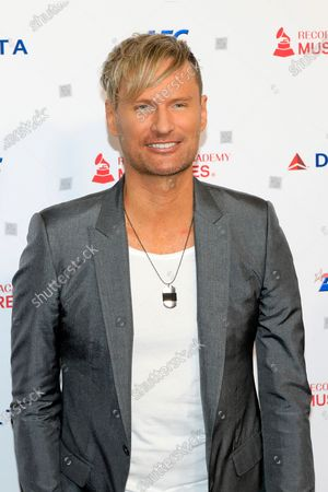 Stock Picture of Brian Tyler arrives for the 2020 MusiCares Person of The Year gala at the Convention Center in Los Angeles, California, USA, 24 January 2020. MusiCares Person of the Year honored US rock band Aerosmith for their extraordinary creative accomplishments and significant philanthropic efforts over five decades.