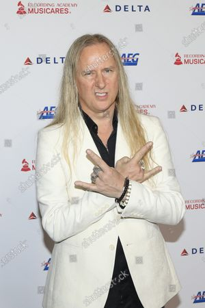 Jerry Cantrell arrives for the 2020 MusiCares Person of The Year gala, at the Convention Center in Los Angeles, California, USA, 24 January 2020. MusiCares Person of the Year Tribute honored US rock band Aerosmith for their extraordinary creative accomplishments and significant philanthropic efforts over five decades.